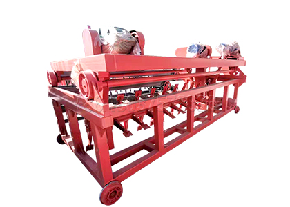 Groove Compost Turner for Small Scale Organic Fertilizer Production Plants