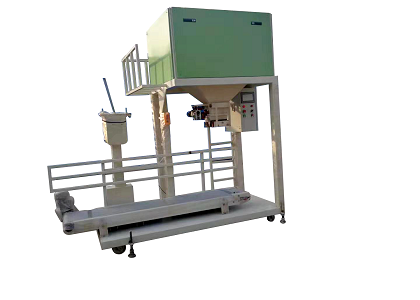 small scale automatic packaging machine in organic fertilizer productionline