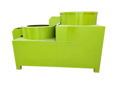 Compost pellets polishing machine