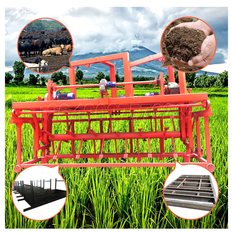 Croove Compost Turner for Bio Organic Fertilizer Production