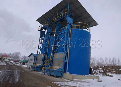 Industrial fermentation tanks for fertilizer making