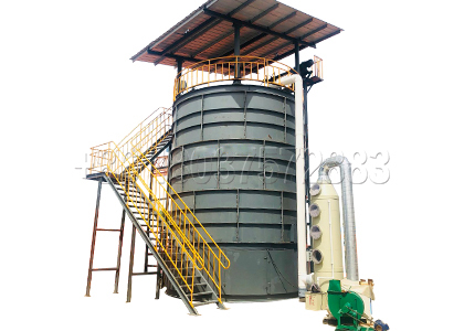 Industrial fermentation tanks