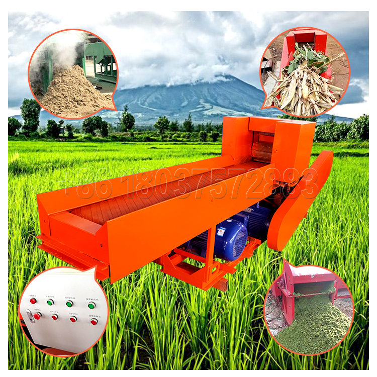 Organic fertilizer powder making machine