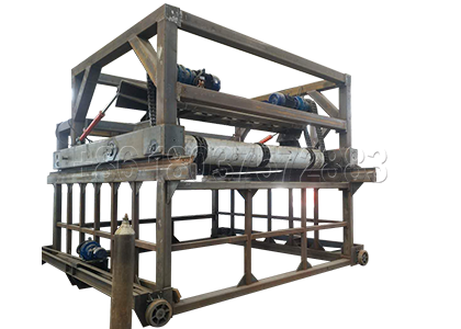Organic fertilizer turning machine