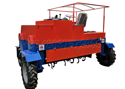 moving type compost turner for your manure composting
